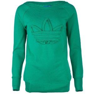 Adidas Originals EQ Logo Sweatshirt Ribbon Trefoil